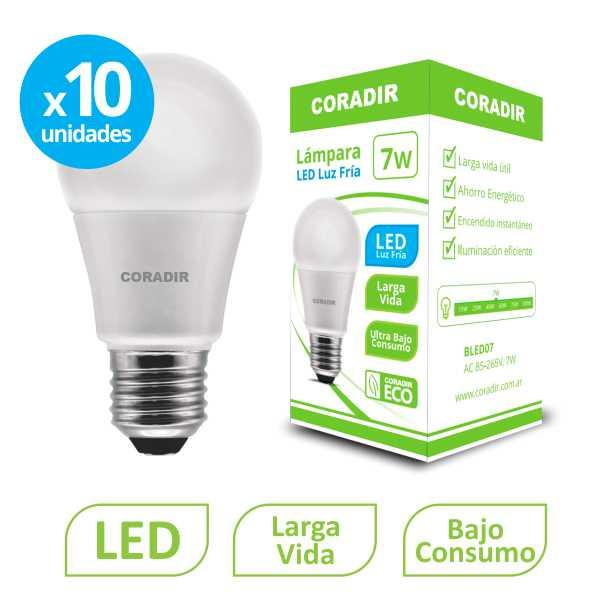 img_Pack x 10 unidades Lámpara Led BLED 7W