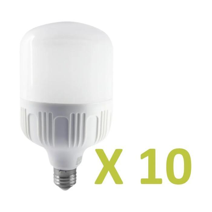 img_Pack 10 Unidades Lámpara Led e27 16w - Luz Fría